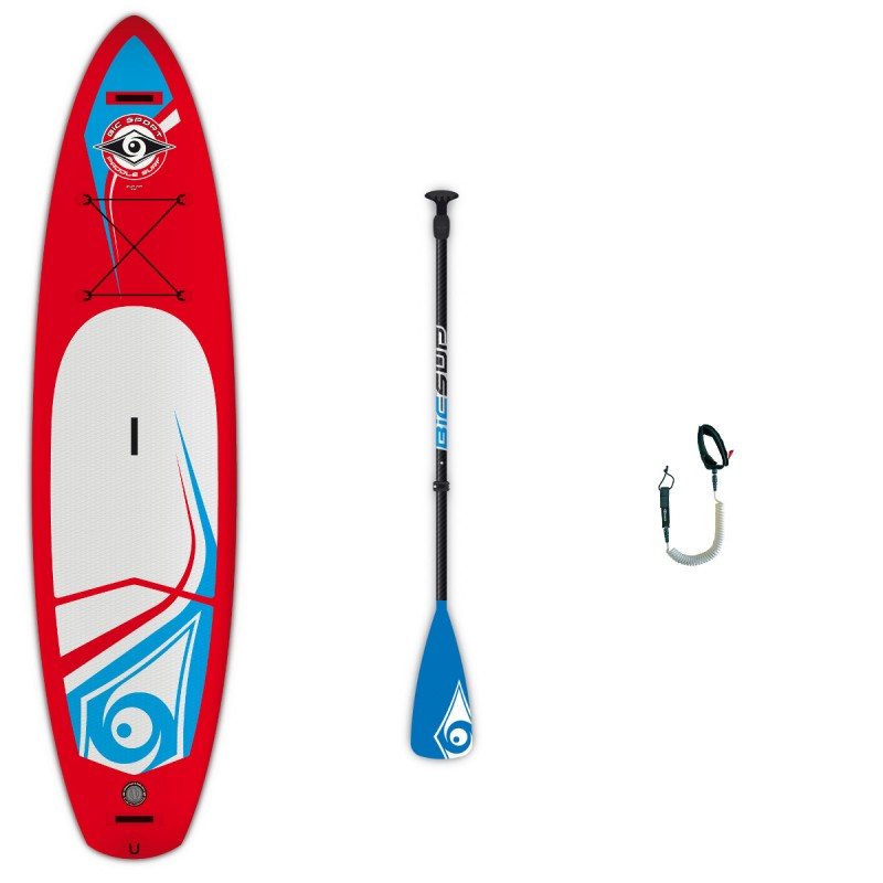 Irklentės komplektas 11'0 SUP AIR Touring + irklas Travel FP + saitas SUP 11 ft Coil